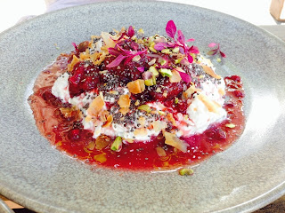The Attic, Fremantle, WA - Bircher muesli
