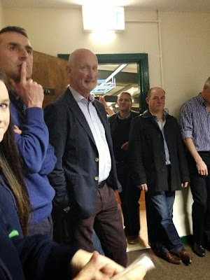 Picture of Brian Cody with Sarsfields as the Pitch Development evening