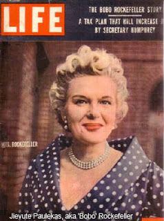 Жиевуте Паулекюте, также известная как «Бобо» Рокфеллер, на обложке журнала «Life»