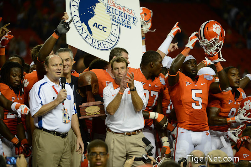 Clemson vs Auburn - Celebration Photos - 2012, Auburn, Dabo Swinney, Football