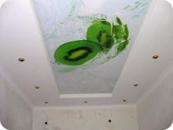 многоуровневые натяжные потолки