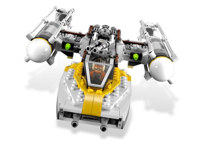 9495 レゴ Y-ウイングファイター・ゴールド・リーダー
