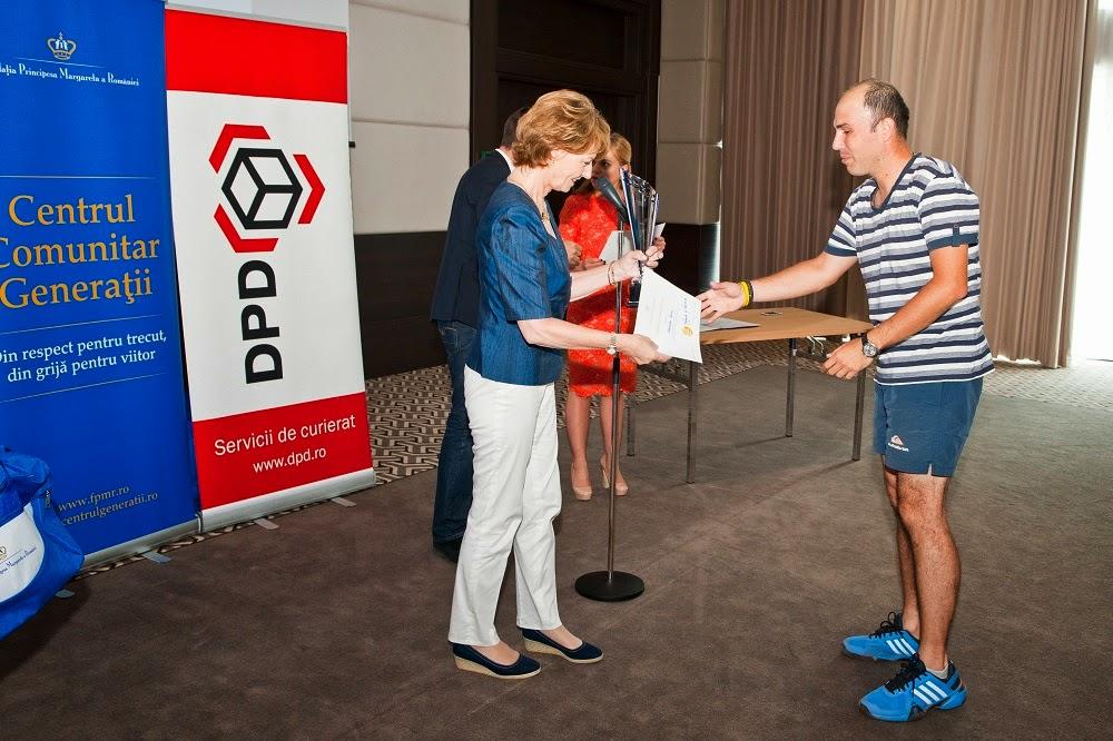 """Principesa Moștenitoare Margareta, la Turneul """"Tennis for People"""" 2014"""