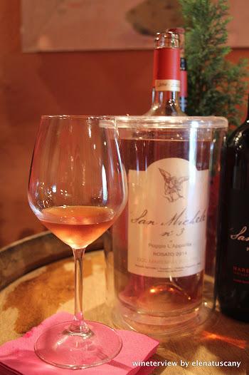 San Michele, San Michele di Poggio L'Apparita,San Michele di Poggio L'Apparita rosato, rosato, vino rosato, rosè wine rosè, maremma, maremma wine, civitella marittima