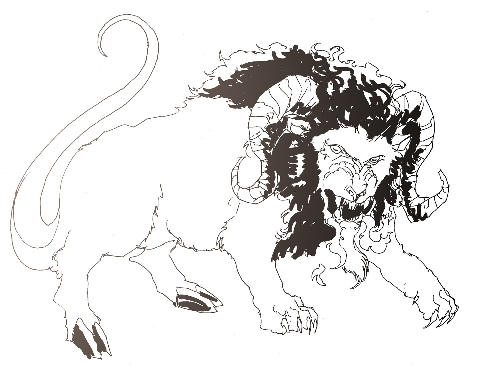 Chimera Greek Mythology Drawing my Chimera And The Greek