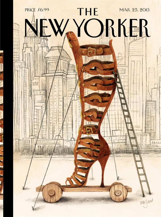 Mar 25 2013 by the new yorker covers