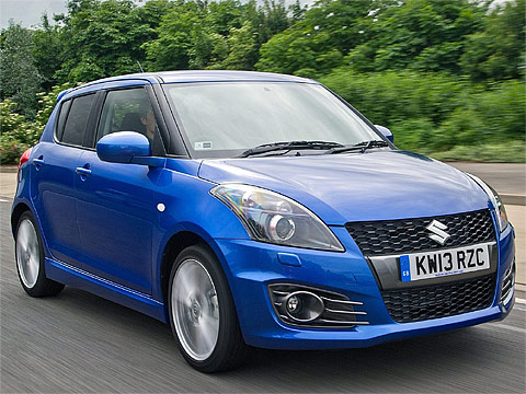 Motor Trend: 2013 Suzuki Swift Sport 5-door