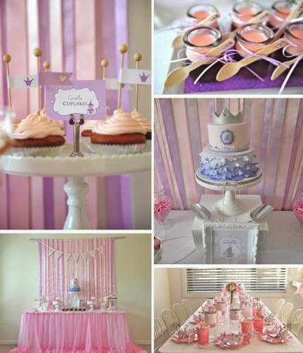 Princess Themed 4Th Birthday Party