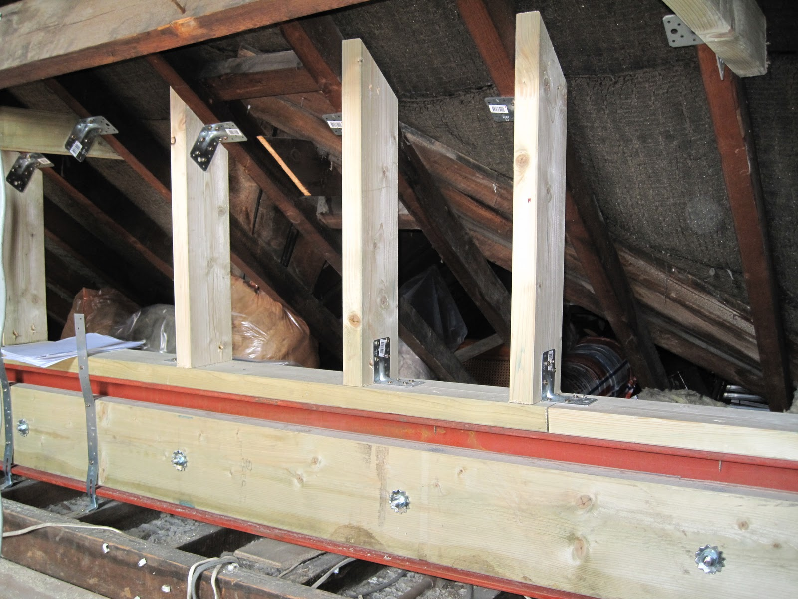 Repairs To 2 Amp 2a And A Loft Conversion Loft Rafters