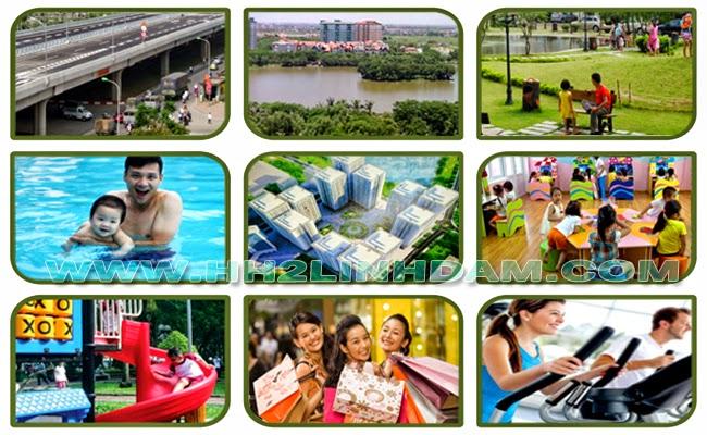 Tiện ích chung cư HH1 Linh Đàm - 0917078221