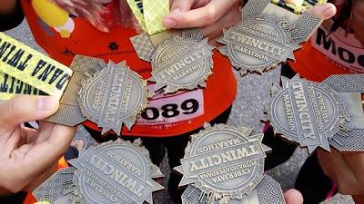 Medal Marathon Cantik