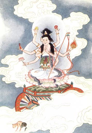 Goddess Tou Mu Image
