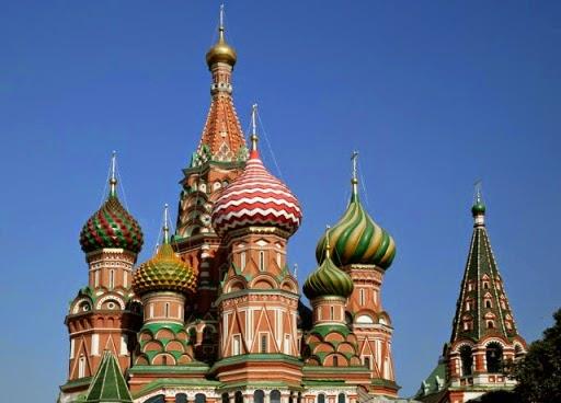 Férias na Rússia