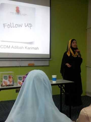 Awesomazing Team speaker Adibah Karimah