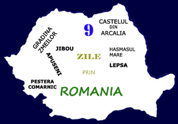 9 zile prin Romania