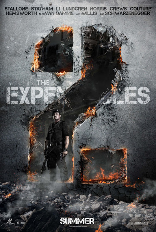 expendables two xlg The Expendables 2   Galeria de Posters e Trailer.