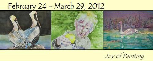 The Joy of Painting: An exhibition of art by Jean McMullen and her students.