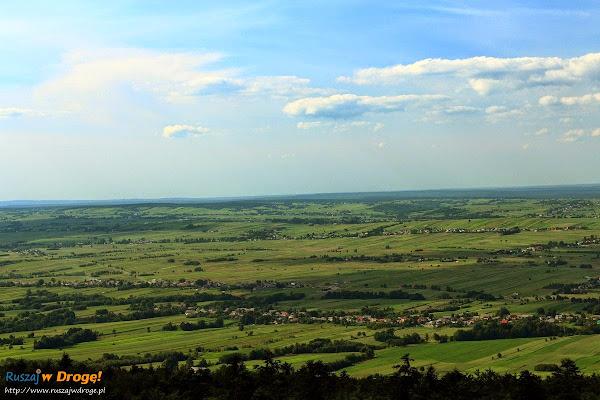 Widoki z platformy na Łysej Górze