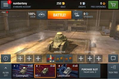 Burney Gamer Blog: World of Tanks:Blitz - Mobile Month Review