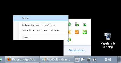 Cómo iconizar una aplicación C# en el área de notificación de Windows