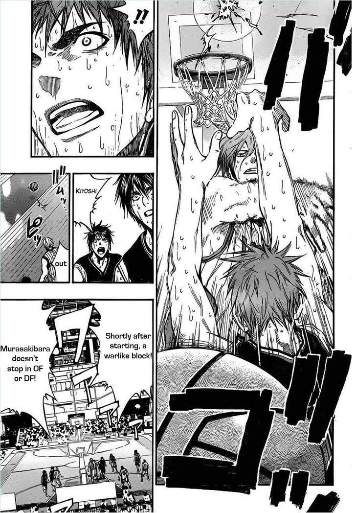 Kuroko no Basket Manga Chapter 157 - Image 07