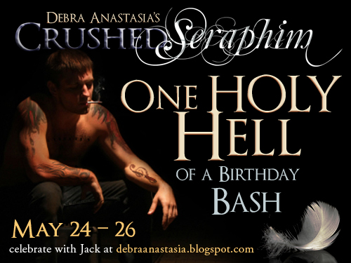 Birthday Bash Giveaway: Crushed Seraphim by Debra Anastasia