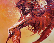 women fantasy red karol bak 1280x1024 wallpaper