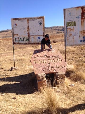 The Mitchells in Bolivia: Road Trip