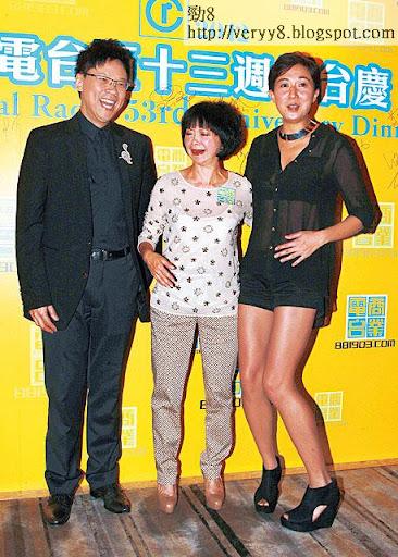 陳總進駐商台踢走高薪低收視的查小欣,頂上的吳綺莉,三個月後同樣被炒魷。