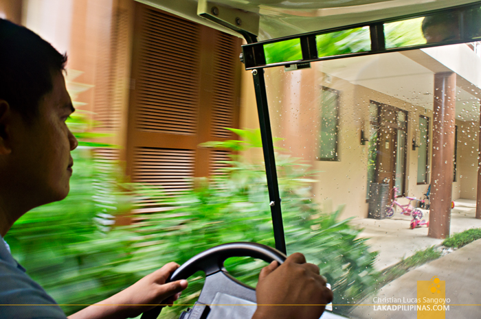 Golf Carts at Albay's Misibis Bay