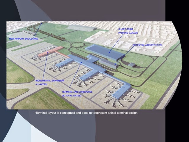 About airport planning new orleans international airport long term infrastructure development Airport planning and design course