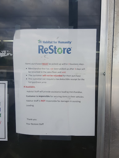 Home Improvement Store «Fayetteville Habitat for Humanity ReStore», reviews and photos