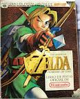 The Legend Of Zelda - Ocarina of Time - Guía oficial portada