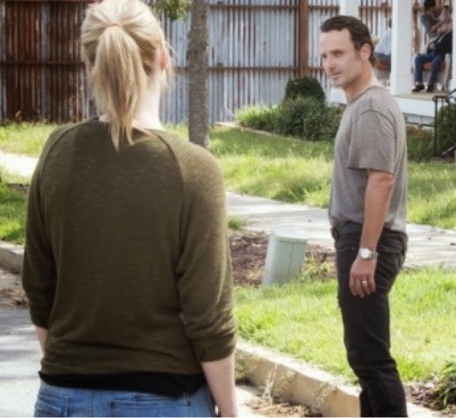 """""""Why Do You Care?"""" The Walking Dead S6 E5"""