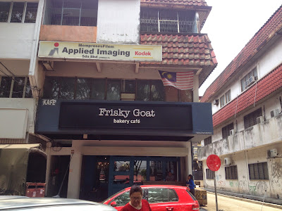 Frisky Goat Cafe Ttdi Menu