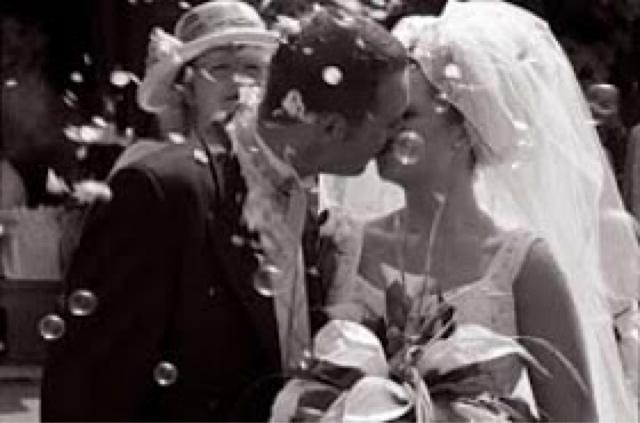 Burbujas de jabón para bodas