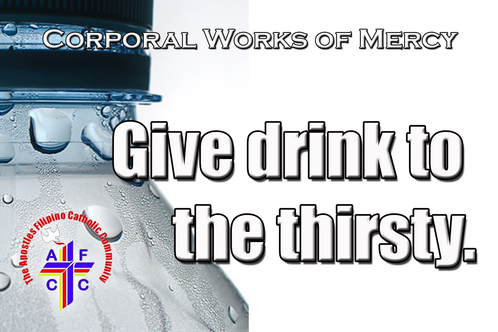 Give Drink To The Thirsty Give drink to the thirstyGive Drink To The Thirsty Bible Verse