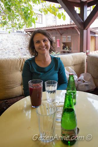 Müze Kahve'de otururken, Türk Hamam Müzesi Beypazarı