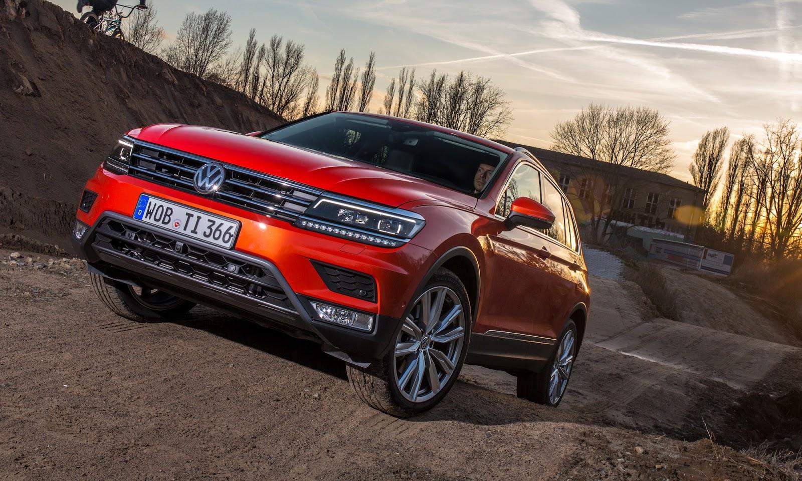 Đánh giá xe Volkswagen Tiguan 2016