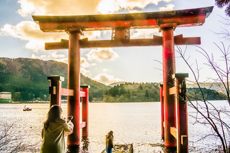 箱根神社 平和の鳥居 写真2