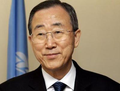 United Nations Secretary general designate Ban Ki-moon