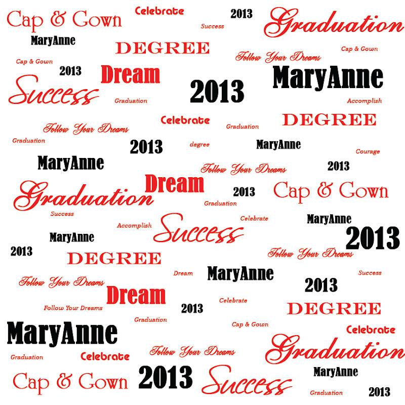 Custom Graduation Paper