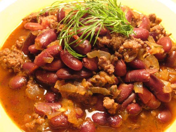 Фасоль с фаршем рецепты с фото
