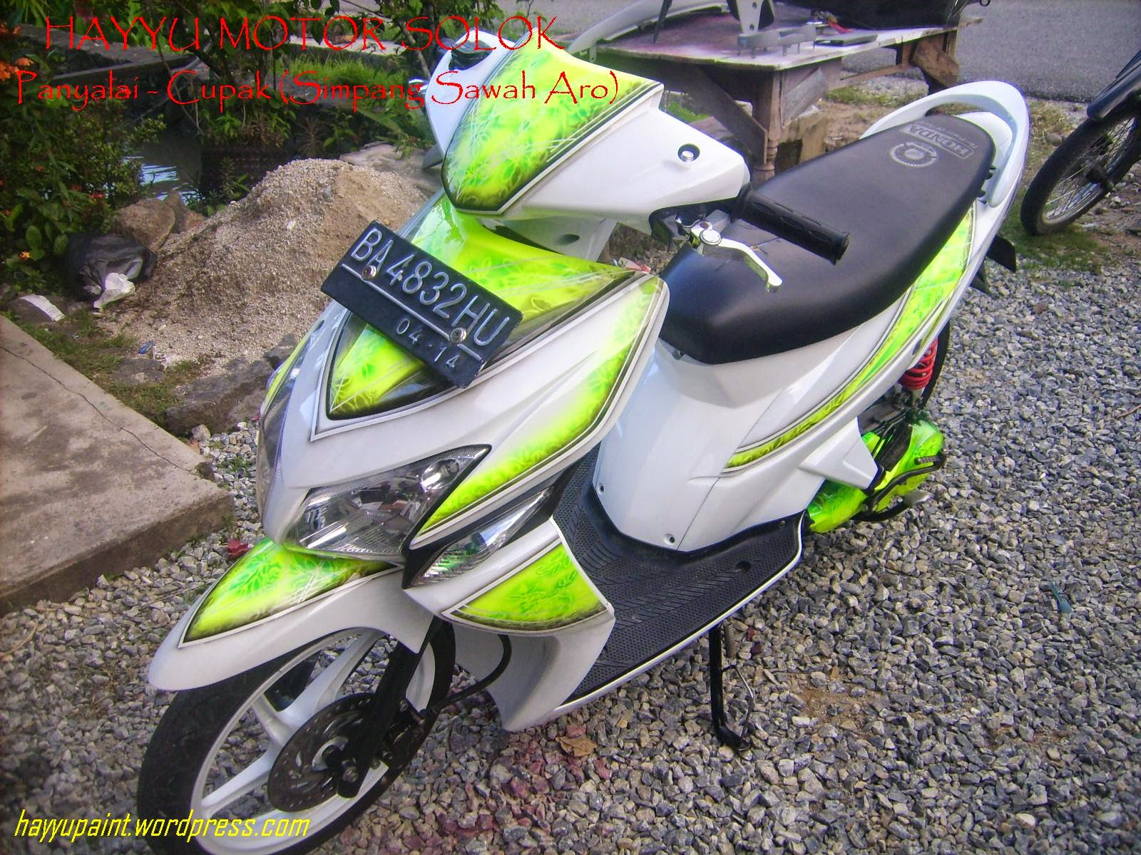 Vario Modifikasi Airbrush