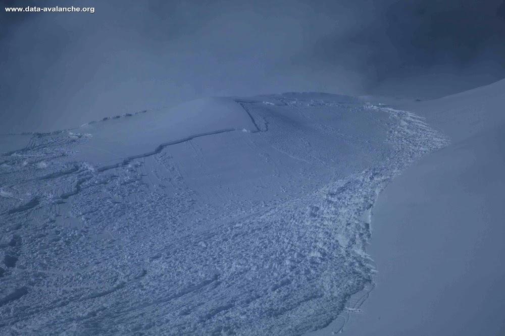 Avalanche Piémont, secteur Val Maira - Photo 1
