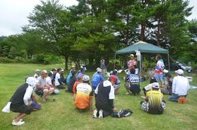 表彰式 冠「HMKL」様サポート 松坂選手挨拶1
