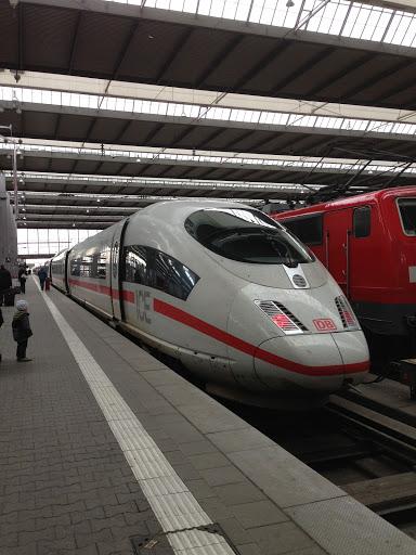an ICE train