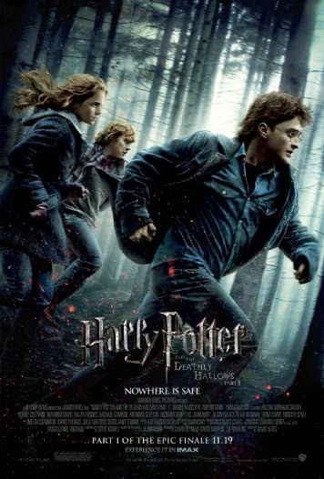 Poster Of English Movie Harry Potter and the Deathly Hallows: Part 1 (2010) Free Download Full New Hollywood Movie Watch Online At alldownloads4u.com
