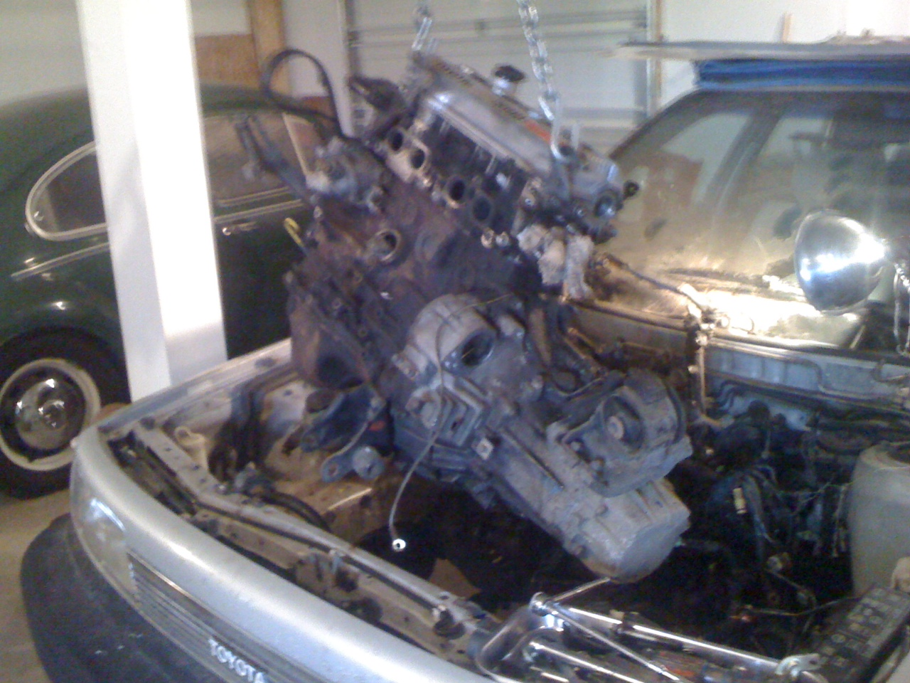 U0026 39 88 Camry 3sfe   The Saga Continues  Day 2 Of Engine Swap