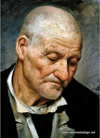 Retrato de anciano, del pintor Alfredo Ramos Martínez